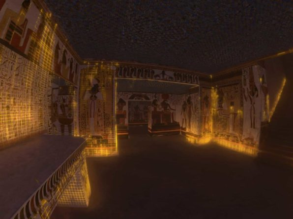Immersive 3-D Experience Queens Of Egypt
