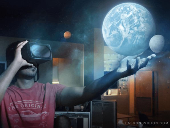 Falcon's Vision VR Headset