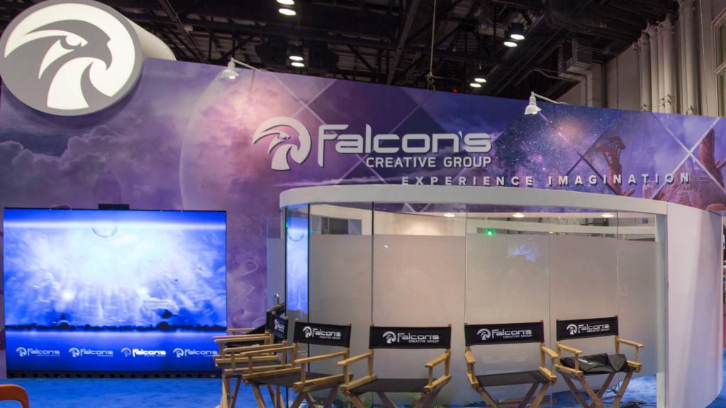 Falcon's Creative Group IAAPA Booth
