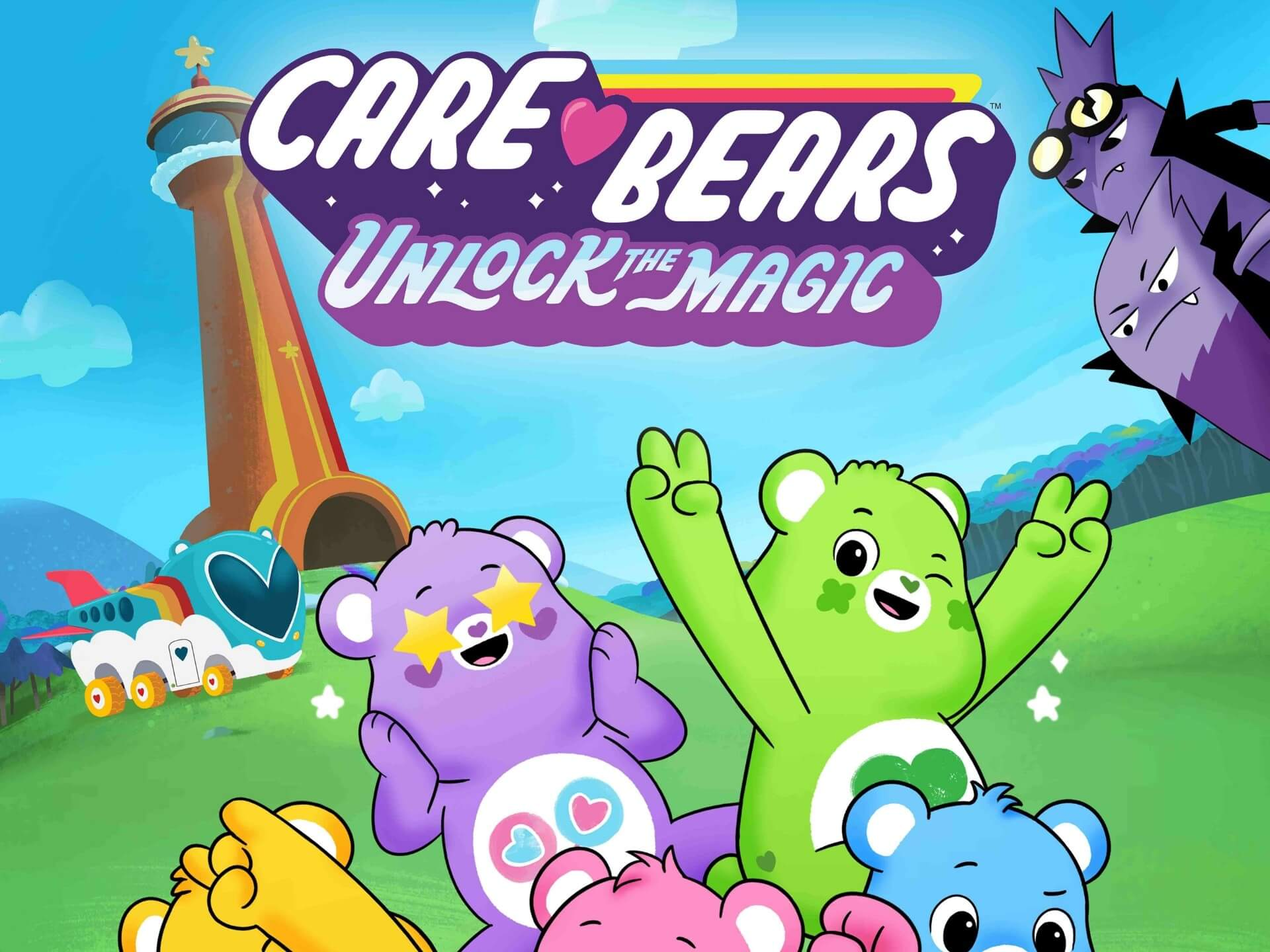 Care Bears partners with Falcon's Creative Group