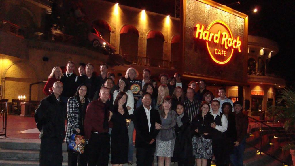 Hard Rock Cafe Opening