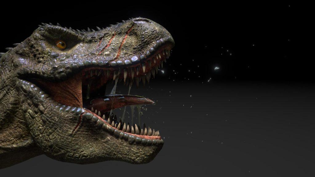 Jurassic Island Dinosaur Design