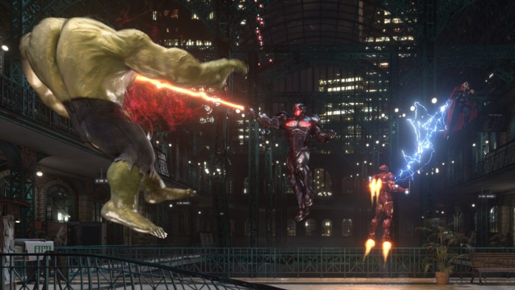Avengers: Battle of Ultron 4D Dark Ride