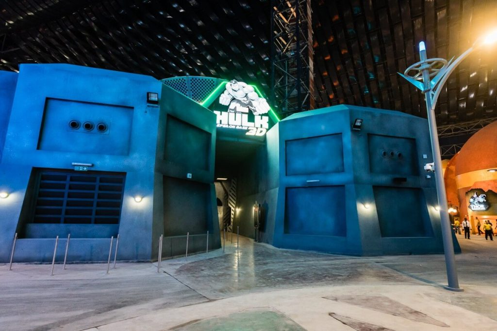 Hulk Epsilon 3D Ride at IMG