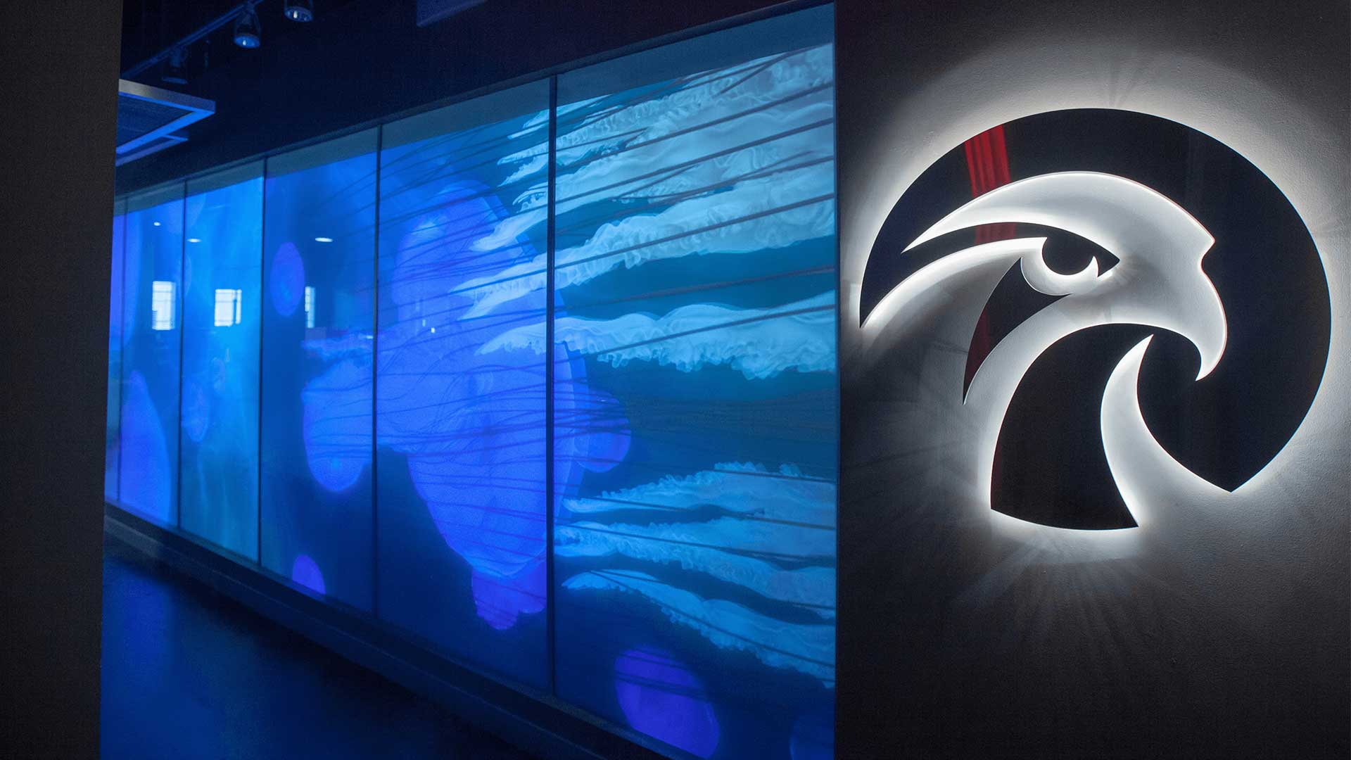 Falcon's Creative Group Video Wall