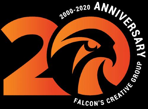 Entertainment Design Company Falcon's Creative Group Logo