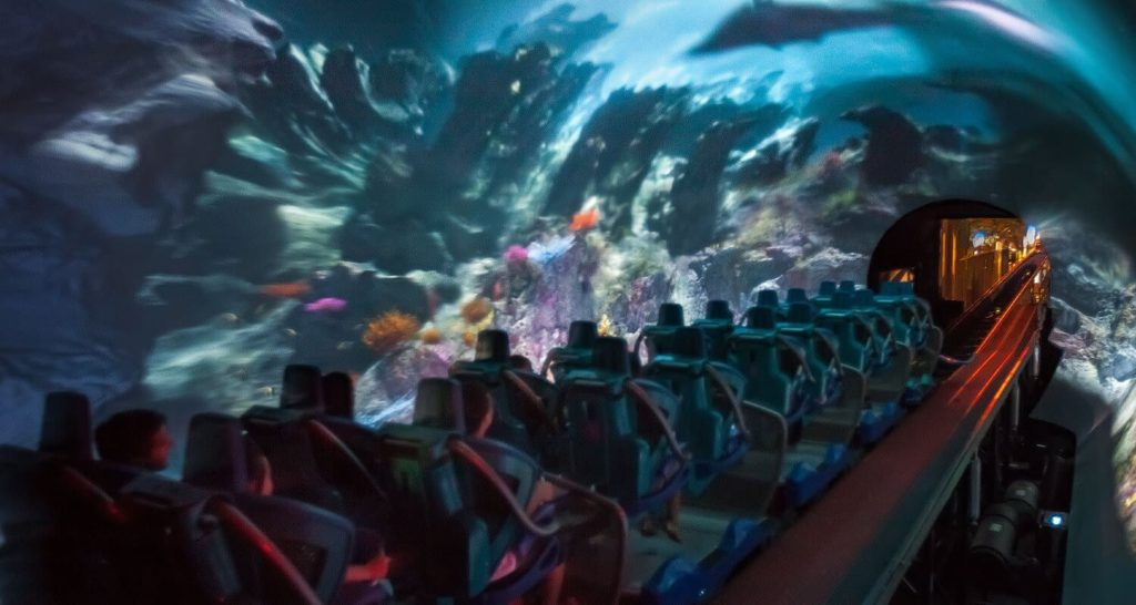Manta-Roller-Coaster-Launch-tunnel-show